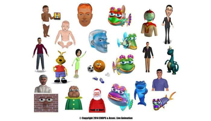 INVIRTUA Digital Characters