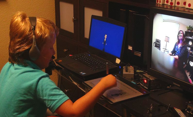 Avatars Catch the Eyes of Autism Therapists