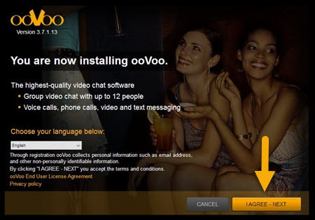 installing oovoo
