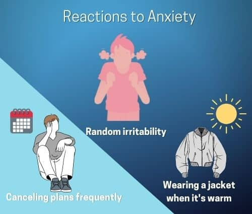 Reactions to Anxiety